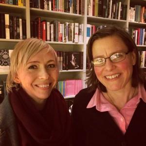 Jenny Jägerfeld och Lena Andersson