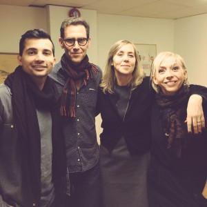Arkan Asaad, Håkan Östlund, Sara Kadefors, Jenny Jägerfeld
