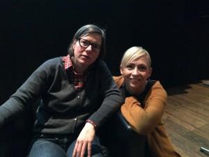 Lena Andersson och Jenny Jägerfeld